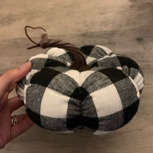 Nothing says fall like a cute plaid pumpkin!